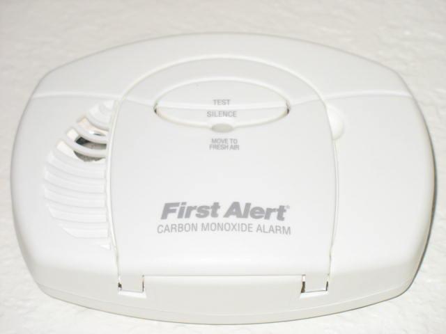First Alert CO detector