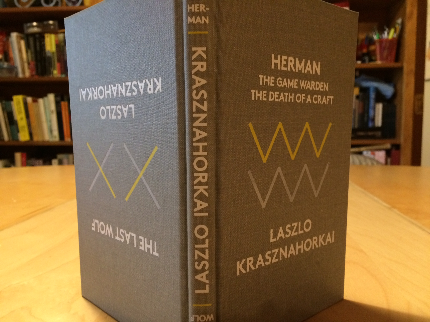 Krasznahorkai, Herman and The Last Wolf