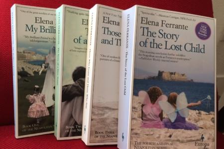 Elena Ferrante's Neapolitan books